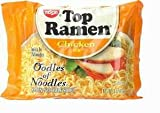 Nissin Top Ramen Oodles of Noodles Chicken Flavor 3oz 48-pack