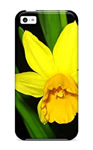 6095276K19336710 New Yellow Flowers Tpu Case Cover, Anti-scratch Phone Case For Iphone 5c