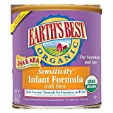 Earth's Best Organic Sensitivity Infant Formula With Iron - Case Of 4 - 23.2 Oz. 23.2 OZ