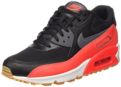 Dark Black Running Nike Air Max 90 Crmsn sl Donna Essential brght Nero Wmns Scarpe Grey da xPvxwBq