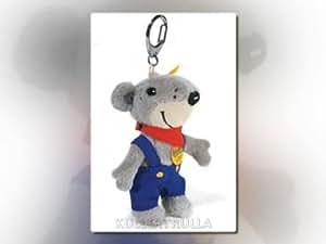 Steiff 21145  - Llaveros Ratón Miko 11 cm gris