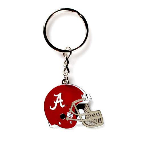 aminco NCAA Alabama Crimson Tide Helmet Enamel Keychain