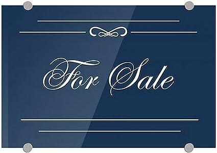 CGSignLab for Sale 27x18 Classic Navy Premium Brushed Aluminum Sign