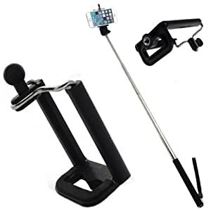 PINPO(TM) 1/4 Inch Screw Universal Phone Holder Stand for iPhone Sumsung Blackberry NOKIA Sony HTC
