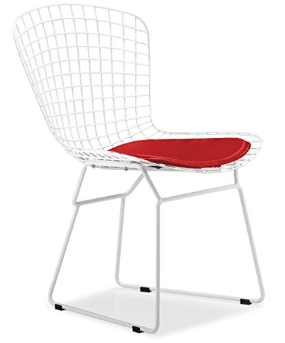 Bertoia Style Wire Side Chair - 7