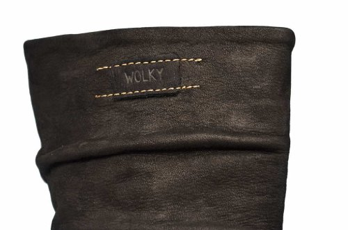 Wolky Leather nbsp;bottes Jacky nbsp;– nbsp;rouleau 06267 50000 Oiled Confort Black zfgzqwr