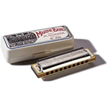 Hohner Marine Band Harmonica, Key of C