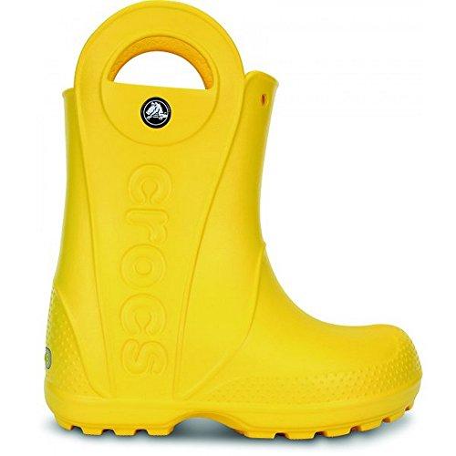 Crocs Handleit, Bottes mixte enfant Gelb (Yellow 730)