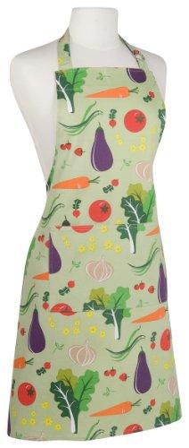 (Kitchen Style by Now Designs Basic Apron, Garden Veggies)