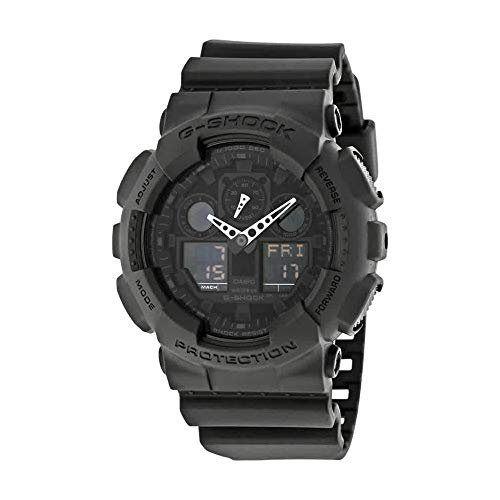 Casio G-Shock Men's Big Combi Military Series Watch, Black, One Size (Best Looking G Shock Ever)
