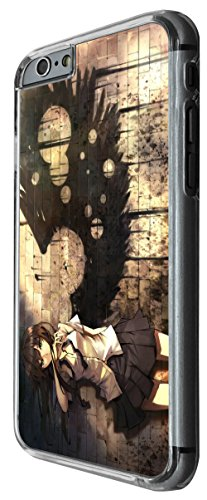1080 - Cool fun manga art japanese girl sexy wings graffiti school girl Design For iphone 6 Plus / iphone 6 Plus S 5.5'' Fashion Trend CASE Back COVER Plastic&Thin Metal -Clear