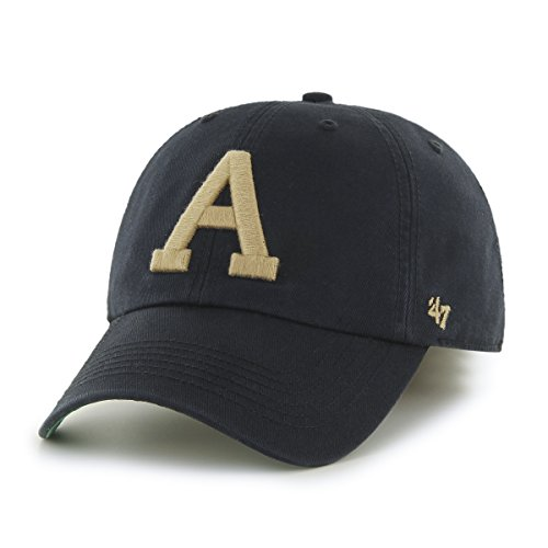 Black Franchise Hat - '47 NCAA Army Black Knights Franchise Fitted Hat, Black 2, XX-Large