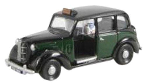 1/76 オースチン FX3 ロンドンタクシー ブラック/グリーン EM76845