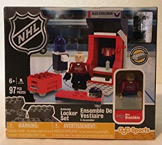 Buildable Locker Set NHL Alex Ovechkin 95 Pieces