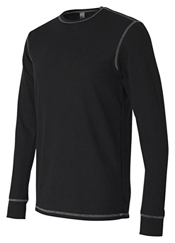 Canvas Men'S 4.5 Oz. Lombard Thermal, Black/Grey, - Shop Lombard