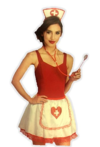 Practitioner Kit (Nurse Practitioner Kit Tutu Skirt Stethoscope Hat Womens Costume Accessory O/S)