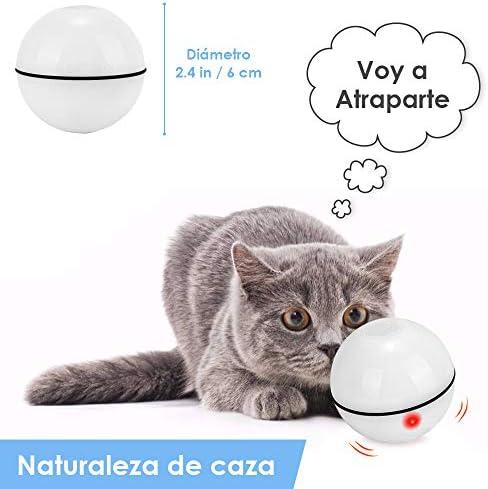 Juguetes para gatos, bola de gato interactiva inteligente,  juguete de ejercicio para gatos y perros 6