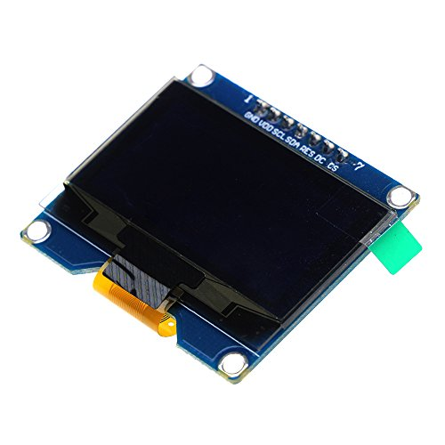 1.54 Inch White OLED Display Module 128x64 SPI IIC Interface OLED Screen Board 3.3-5V UART