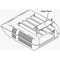 Coleman 7330B4101 Solar Panel After Market Kit