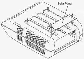 Coleman 7330B4101 Solar Panel After Market Kit by Coleman
