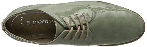 Mint 730 23203 Verde Zapatos Oxford de Comb Tozzi Mujer Cordones para Marco BwZ4zxq11