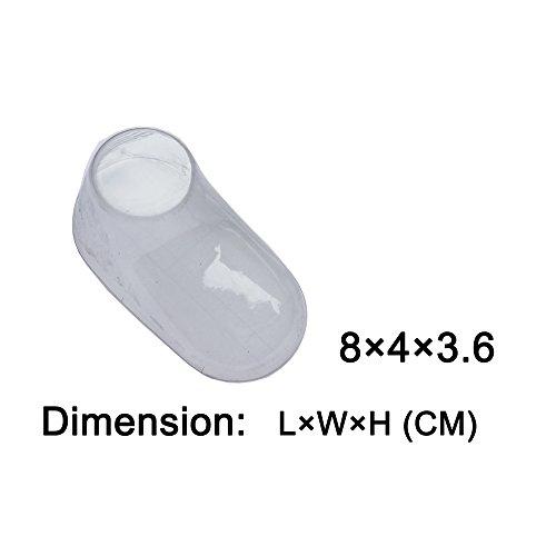 Display Feet (10 Pairs Clear Plastic Baby Feet Display Baby Booties, Shoes, Socks (8 CM))