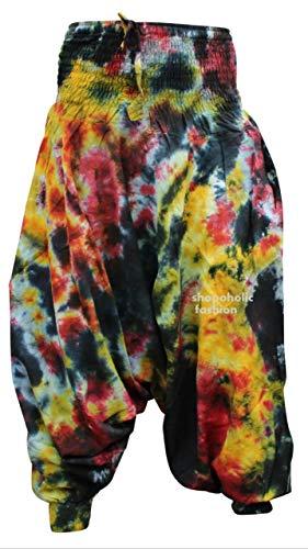 dye Hippy Dazzling Pantalones Shopoholic Harén Coloridos Tie Tyedye Fashion Holgado gFwxvqaI