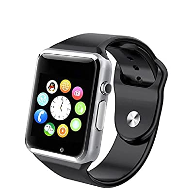 LESUN A1 Bluetooth Sport Smartwatch With SIM Phone Call,Anti-lost,Activity Tracking, Sleep Monitoring, Take Selfie for iPhone 6 Samsung S4/Note 2/Note 3 HTC Android/IOS Smart Phone