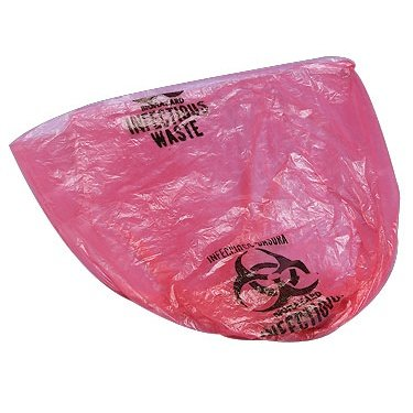 Briggs Health Care Medical Action Saf-T-Seal High-Density Infectious Waste Disposal Bags