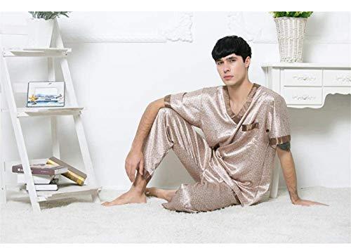 Fashion Albornoz Ropa Largo Hombres Lujo Sauna Saoye De Verano 102 Pijamas Los Baño Home HPqY1d