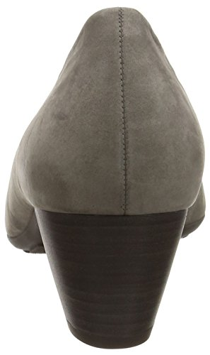 Gabor Women's Brambling Closed-Toe Pumps Grey (Grey Nubuck Oil) O9xCL