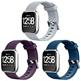 NEWLIBO Compatible Bands for Fitbit Versa, Sports Replacement Band for Fitbit Versa Smart