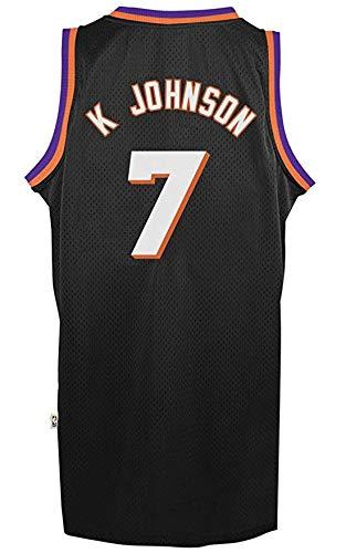 Kevin Johnson Phoenix Suns Black Throwback Swingman Jersey 3XL
