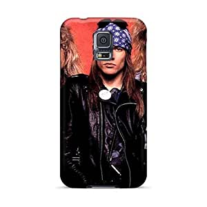 Shockproof Hard Phone Case For Samsung Galaxy S5 (cpZ15340eRse) Provide Private Custom Lifelike Guns N Roses Pictures