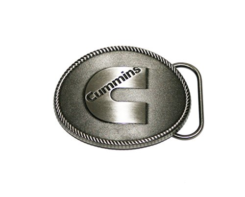 (Cummins Diesel Logo C Metal Oval Mens Belt Buckle)