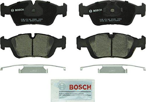 Bosch BC558 QuietCast Premium Ceramic Disc Brake Pad Set For Select BMW 318i, 318is, 318ti, 320i, 323Ci, 323i, 323is, 323ti, 325i, 325is, 328Ci, 328i, 328is, 525i, Z3; Front