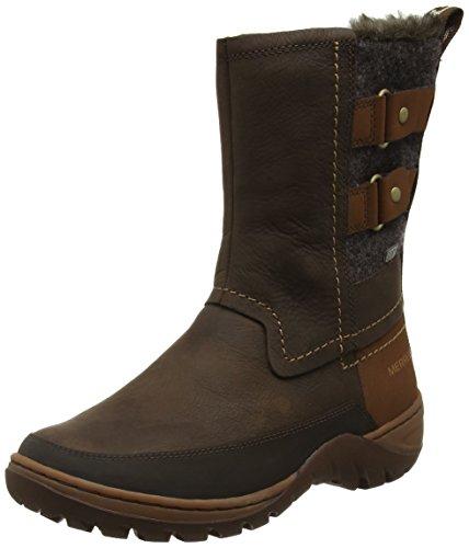 Boots Mid Women's Snow Merrell Soil Sylva Buckle Waterproof Potting Y7n51zP