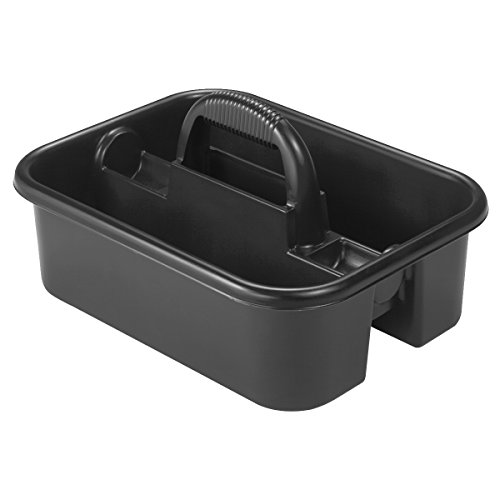 Akro Mils 09185 BLACK Plastic Caddy