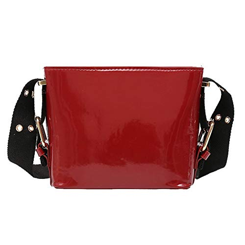 TSDBG217194 Red AalarDom Red Casual Shopping Bags Bags Women's Pu Crossbody az4qH10B4O