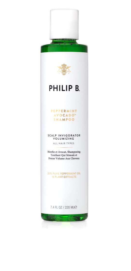 Philip B Peppermint and Avocado Volumizing and Clarifying Shampoo 7.4 Ounces by PHILIP B.