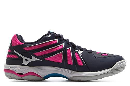 de Basket AW17 Mizuno Hurricane Blue 3 Women's Wave Chaussure wXPHqp
