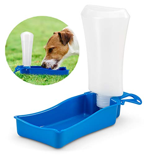 Double A Company Pet Water Dispenser - Portable Dog Water Bottle - Also for Cats