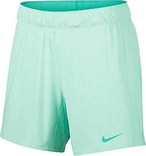Nike Women's Dry Attack 5'' ˜Just Do It' Training Shorts (Igloo/Light Menta, Small)