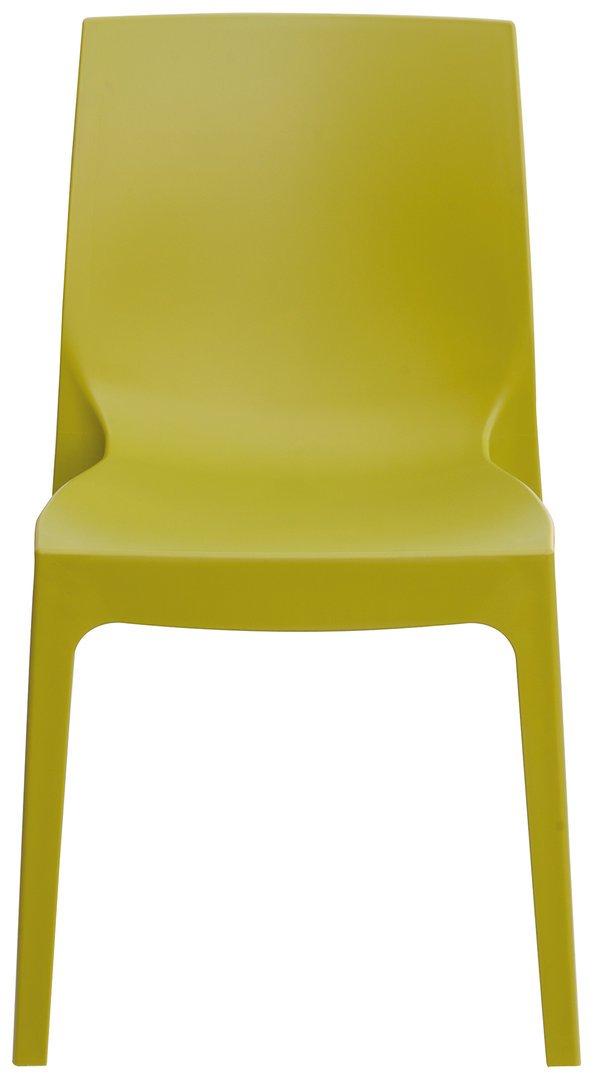 GRAND SOLEIL Grandsoleil Boheme Roma Greenpol sedia impilabile, verde polimerico, anice verde, 54x 52x 81cm Grandsoleil_S6217VA