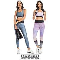 Calça Legging Jeans Reversible Downtown - Azul - LIVE!