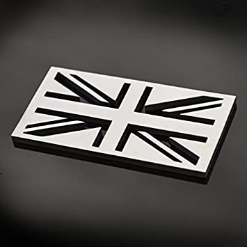 Classic Car Quality Stainless Steel Self Adhesive GB Boot Badge Great Britain