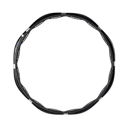 VHOOP Smart Weighted Fitness Hula Hoop Customizable Workout Fat Burning Weight Loss Exercise Detachable, Size Adjustable, 2.7lbs - Basic ()
