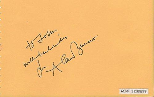 (Alan Bennett Signed Vintage Album Page Winnie the Pooh)