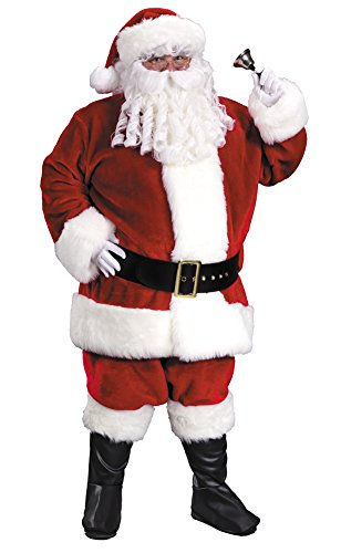 Fun World Plus Size Regency Plush Santa Suit XL (Regency Santa Suit)