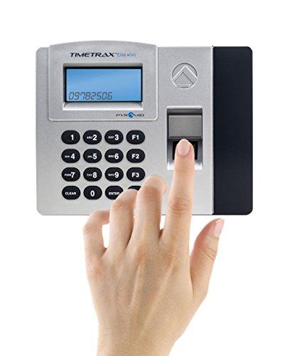 Pyramid Timetrax Elite Tteliteek Automated Biometric